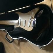 Fender American Deluxe Stratocaster 60th Anniversary Electric Guitar W / Case