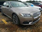 Motor Engine 3.7l Vin K 8th Digit Fits 17-18 Lincoln Continental 123542