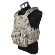 Tmc3181-a1 Hunting Paintball 6094k Tactical Vest Plate Carrier Aor1
