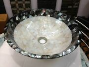 Bathroom Accessories Intricate Work Marble Vessel From Cottage Art And Crafts