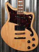 Dand039angelico Deluxe Bedford Offset Natural Guitar And Case 1677