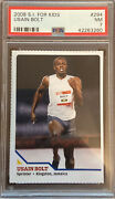 2008 Sports Illustrated For Kids Sifk Usain Bolt Rookie Rc 294 - Psa 7 Nr Mint