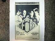 The Firm Poster Jimmy Page, Paul Rodgers Civic Arena 11 X 17