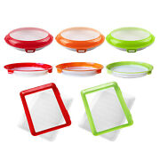 Creative Food Preservation Tray Vacuum Seal Container Eco-friendly Reusable