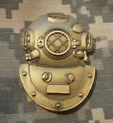 Us Army Deep Sea Diver School Qualification Coin Military Challenge Coin