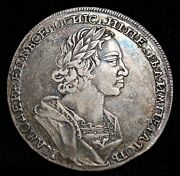 Russia Peter I The Great Rouble 1724, Au.