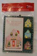 Hallmark Better Homes And Gardens Giant House Cookie Cutter Kit Metal Nip Holiday