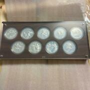 Olympic Games Tokyo 2020 1000 Yen Commemorative Sv Proof Coins Set From Japan