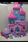 Fisher-price Little People Disney Cinderella Princess Wand Palace And Carriage
