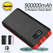Power Bank 900000mah Portable External Battery Pack 4 Usb Charger For Cell Phone