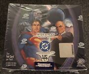 Upper Deck Superman Man Of Steel Trading Card 1st Edition Game Factory Sealed