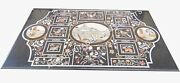 4and039x3and039 Marble Dining Hallway Table Top Handmade Mosaic Inlay Christmas Decor E498