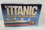 Titanic Book And Submersible Model C 1999 Hughes And Santini Factory Sealed