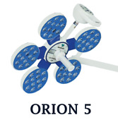 Ot Surgery Light Orion-5 Single Dome Led Operating Light Ceiling/wall Mounted/mo
