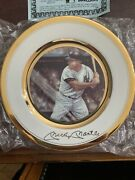Rare Autographed Mickey Mantle Gold Edition Plate 315/1000