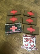 Lot Of 6 Medical Triage Markers Mtm Ats Tactical Red Cross Not Working For Parts