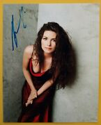 Shania Twain Hand Signed 10 X 8 Photo Autograph Country Pop Singer And Songwriter