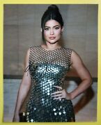 Kylie Jenner Hand Signed 10 X 8 Photo Autograph Model And Media Personality