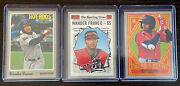2019 Topps Heritage Minor League Wander Franco 3 Card Lot Bowling Green Hot Rods