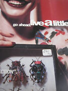 Rare Full Page Iradj Moini Jewelry Advert Clever Concept Insect Bug Collection