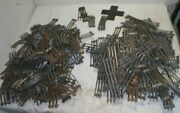 Large Lot Of Lionel Track - Straights And Curves - Over 275 Pieces - 30 Pounds