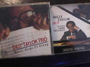 Lot 2 Cdandrsquos Billy Taylor Trio Music Keeps Us Young Nm And Billy Taylor Dr. T Vg