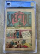 More Fun Comics 64 Cgc Ow/w Pages The Spectre Dc 1941 Ad For All-star Comics 3