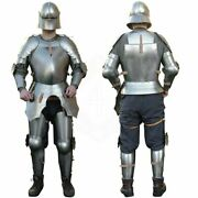 Medieval Knight Full Suit Of Armor Germany 16th. Century Battle Armor Suit