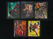 1992 Skybox Marvel Masterpieces Complete Lost Ladies Insert Card Set, Lm1-lm5