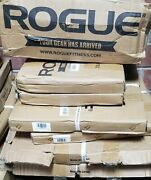 Rogue Fitness Olympic Cast Iron Plates 10 Plates 240lb Weight Set 5 10 25 35 45