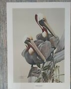 Rare Art Lamay Double Signed A/p- Le 82/ 150 Southern Exposure 30.5 X 22