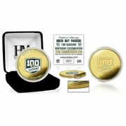 Green Bay Packers 100 Year Anniversary Commemorative Coin