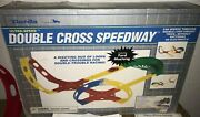 2 Vintage Darda Sets-dardadrome And Double Cross Speedway With 7 Race Carsandnbsp