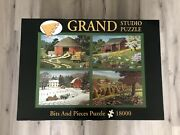 Ultra Rare 18000 Piece Grand Studio Bits And Pieces Jigsaw Puzzle