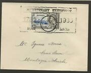 1933 Mauritius Bicentennary Expo Cover Port Louis