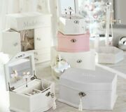 Pottery Barn Kids   Abigail Jewelry Box And Stand With Customized Ruby Name