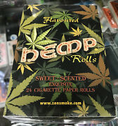 Hemo Rolls - Printed Cigarette Rolling Papers Sealed Box Rare L@@k