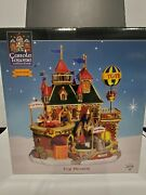 Lemax Carole Towne Collection Animated Illuminated Toy World In Box