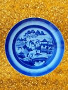 Huge Antique Chinese Blue And White Porcelain Plate