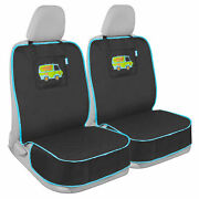 Scooby Doo 2 Pack Dog Car Seat Cover Auto Front Seat Pet Protector Black