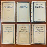 Karl Marx Capital Theories Of Surplus Value Progress Publishers Moscow Set 1954