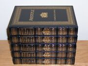 Easton Press Complete Works Of Plato And Aristotle In 9 Vols