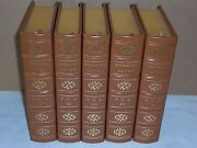 Easton Press Plutarch Lives Of Noble Greeks And Romans 5 Vols Deluxe Limited Ed