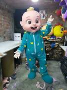 Oem Festival Party High Quality Cocomelon Baby Boy Mascot Costume Cosplay
