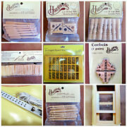 Houseworks Wooden Dollhouse Parts Spindles, Balusters, Roof Shingles, Corbels