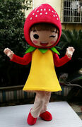 Halloween Fruits Strawberry Mascot Costume Suits Advertising Character Adults Us