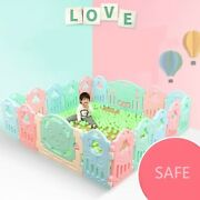 Baby Playpen Safety Barrier Activity Center Safety Play Yard Indoor Pool Pit