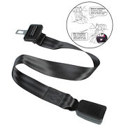 Adjustable Car Seat Belt Buckles Extender Connector 22-35 Inch For Baby Seat