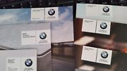 2011 Bmw Series 3 All Owners Manuals Service Guide Mobile Radio + Leather Case