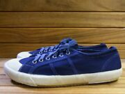 Italian Army Marine Shoes Navy Blue Sneakers Dead Stock Menand039s 1990s 2000s Rare